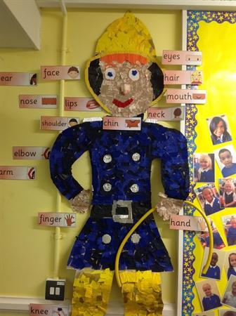 Everyone contributed to Fireman Sam