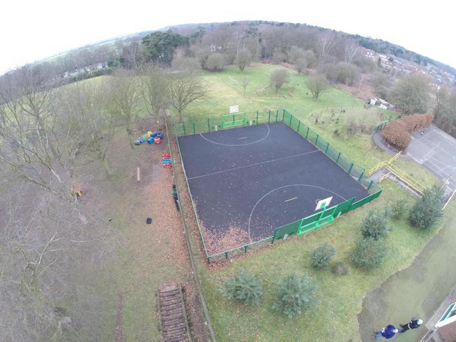 MUGA pitch (outdoor sports pitch)