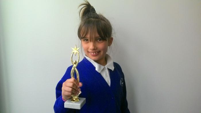 Courtney - dancing award