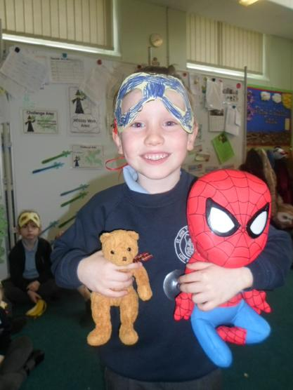 Spiderman and Teddy