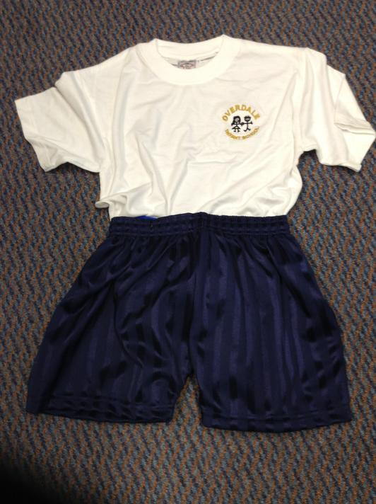 PE T-shirts & PE Shorts