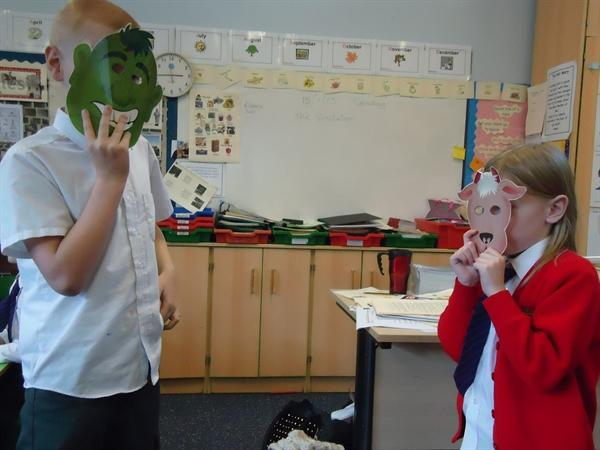 Drama-Re-telling the Tale of the Three Goats Gruff