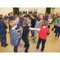 Boys dancing!
