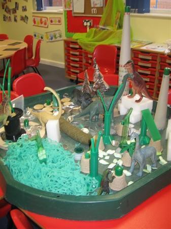 Our dinosaur land!!