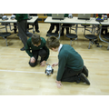 We had a fantastic morning programming our robots