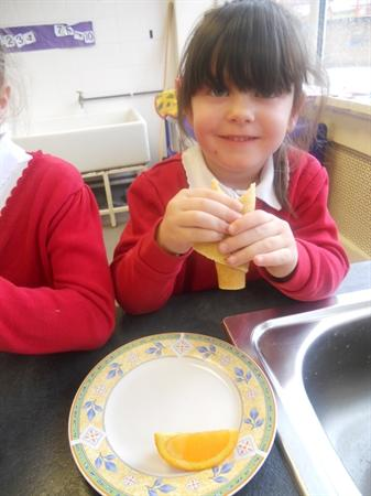 Pancake Tasting On Shrove Tuesday