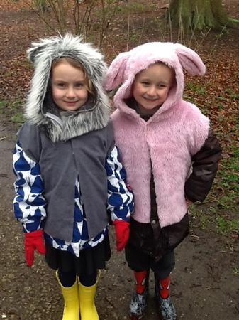 he Big Bad Wolf and one of the Three Little Pigs!
