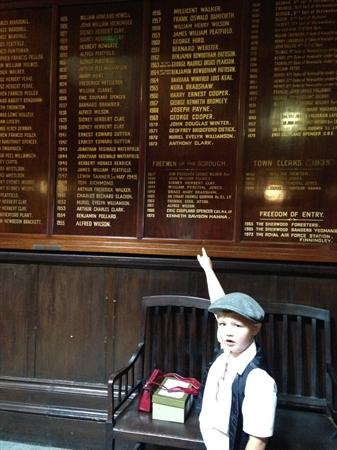 Jack found his great grandads name