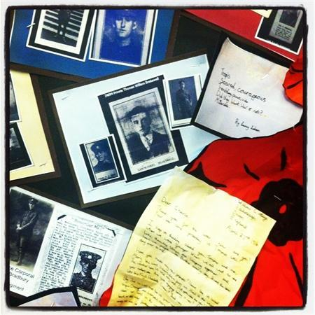 WW1 Letters (Nov 2012)