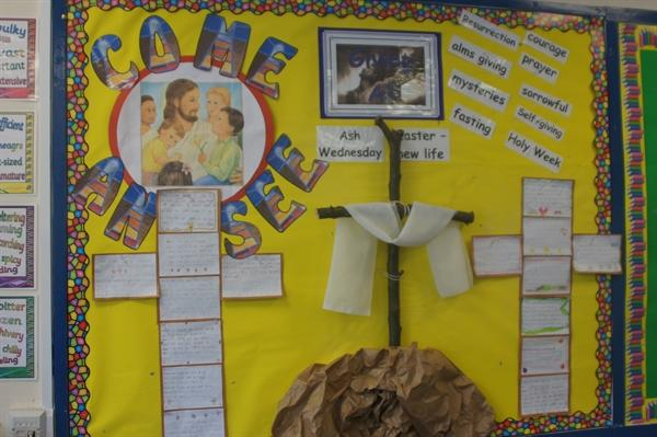 Our Come and See board