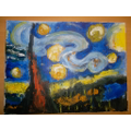 Stary, Stary Night by Rosa, 4D