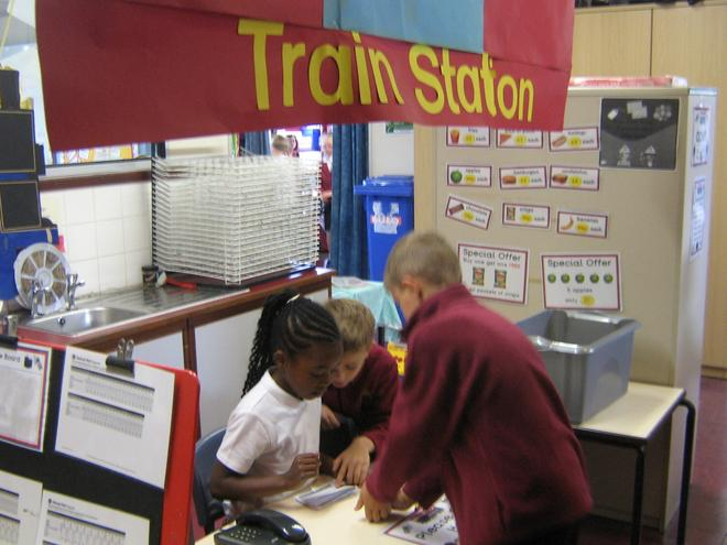Year 3/4 Railway Ticket office