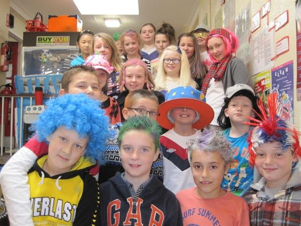 Crazy Hat and Hair Day Y6H