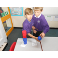 Creating a 3d shape tower