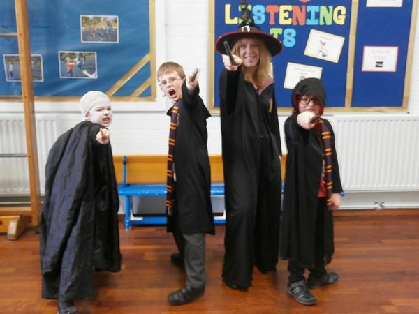 The wizard day Harry Potter!