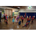 Reception PE themed for Superheroes