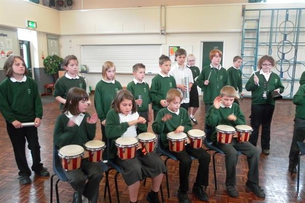 Drumming workshop May 2012