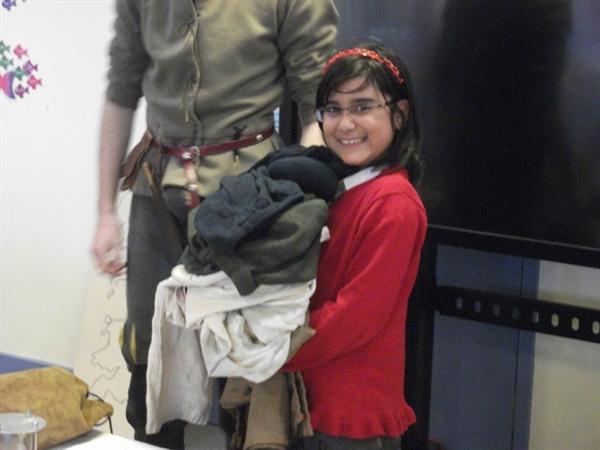 Kyra as the Ship's Boy