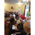 Carol Singing at a local Day Care Centre