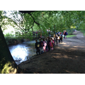 Year 3 and 4 exploring the River Lud.
