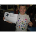 Callum is so proud - well done everyone!
