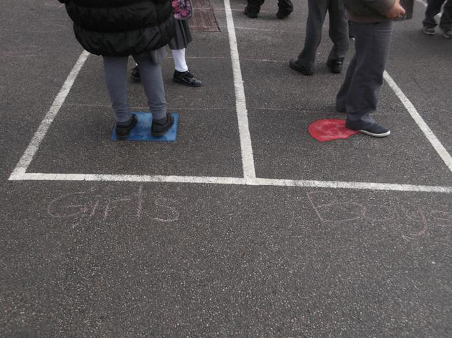 We labelled the axis!