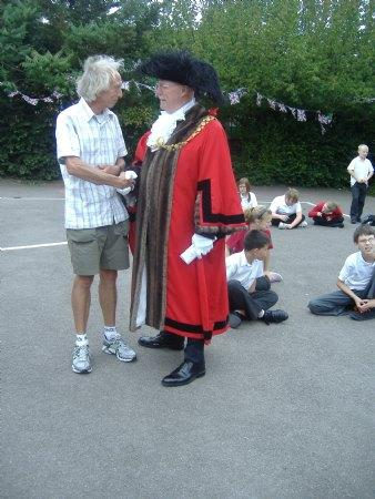 The Lord Mayor's Visit