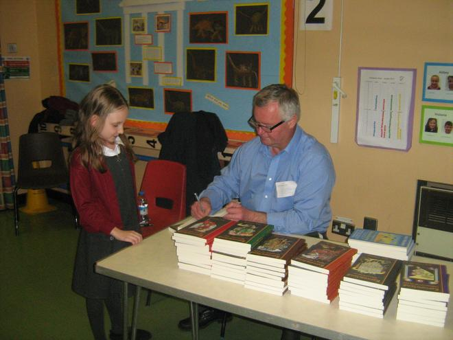 A visit from Jack Trelawney, children's author