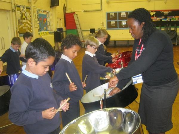 Black History Month Steel Drum Lesson