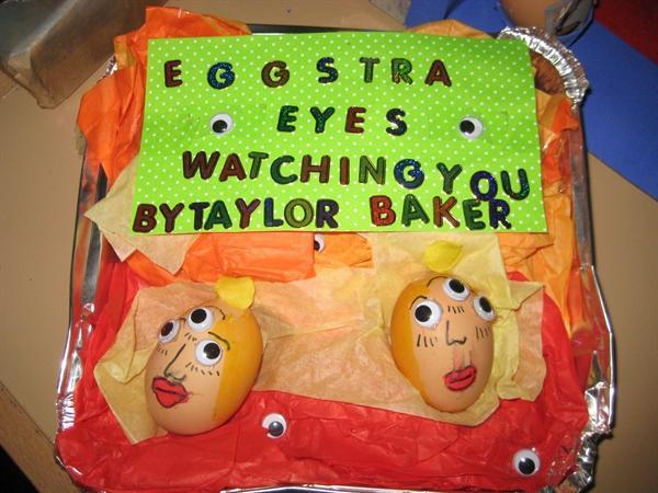 Eggstraordinary effort Taylor!