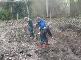 We just love digging!