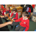 The corn snake had incredible patterns on its skin