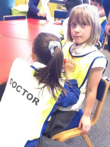 Kadie became a doctor