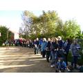 Autumn school walk