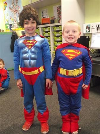 Bringing our Superhero theme to life