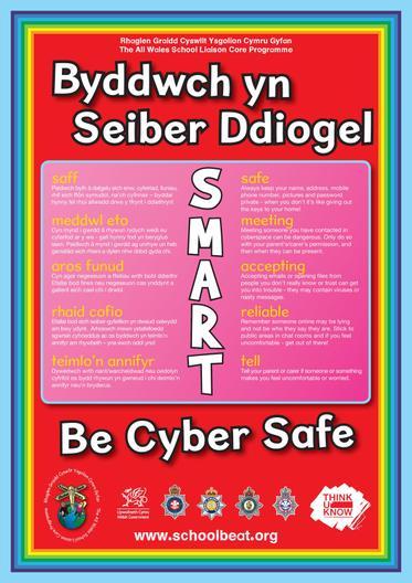 Byddwch yn Seiber Ddiogel
