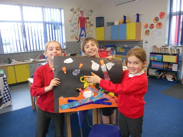 Our maths learning in groups