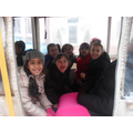Class 2 on the train around the bay