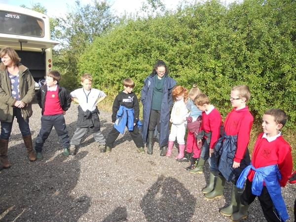 Our forest school visits!
