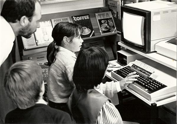 Computer simulation day 1986 or 1987