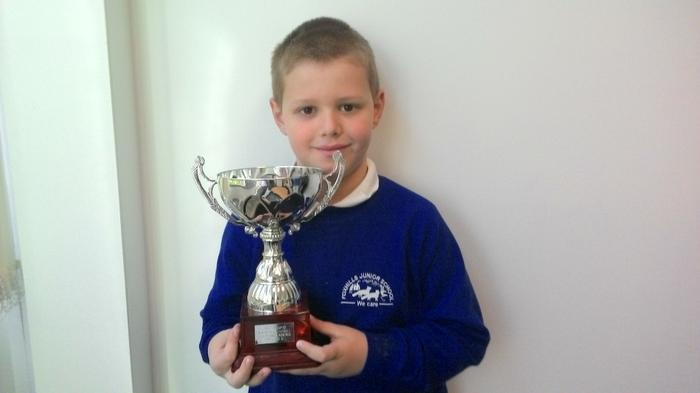 Joshua - 6 goals for his football team!