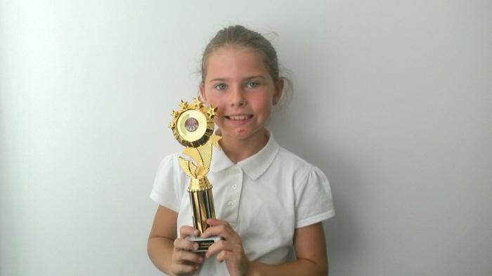 Niamh - Street Dance award