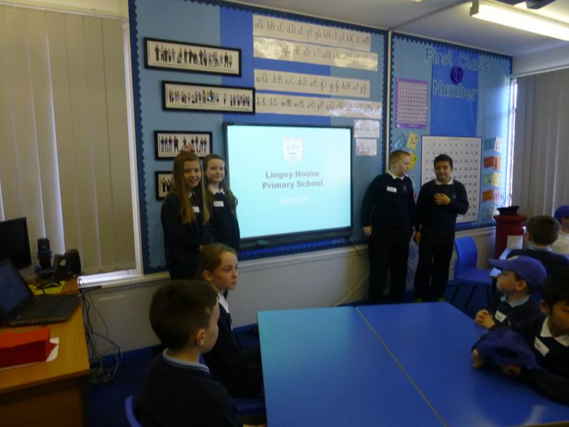 School Council and their presentation