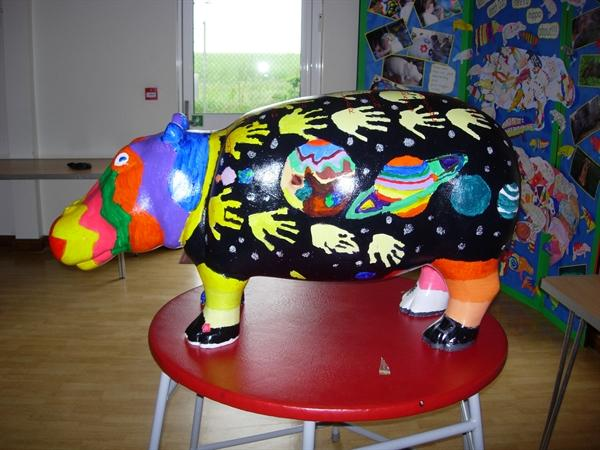 Our completed hippo