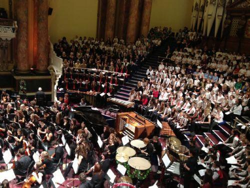 LSMA Town Hall Christmas Concert
