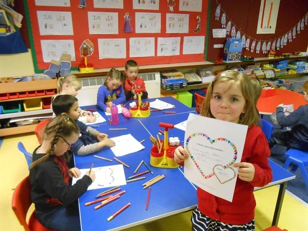 Love is in the air in Year 2 M