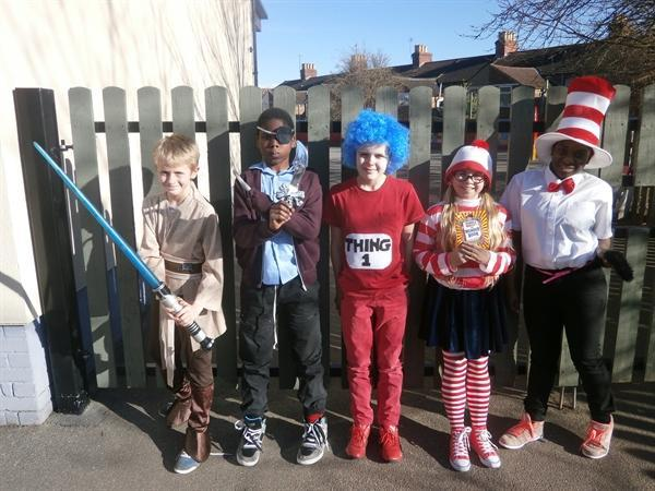 6HC on book character day