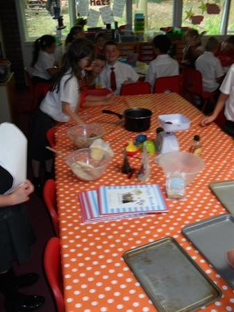 Trialling Our Recipes!