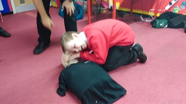 Our visit from St John Ambulance