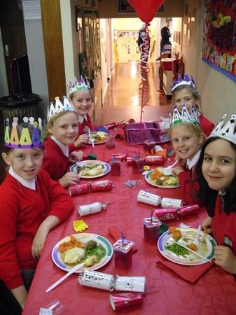 Party Day & Christmas Dinner!